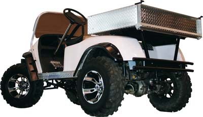 Aluminum Cargo Box for Yamaha Drive