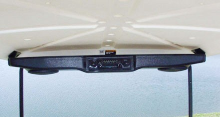 Over Head Radio Console Black
